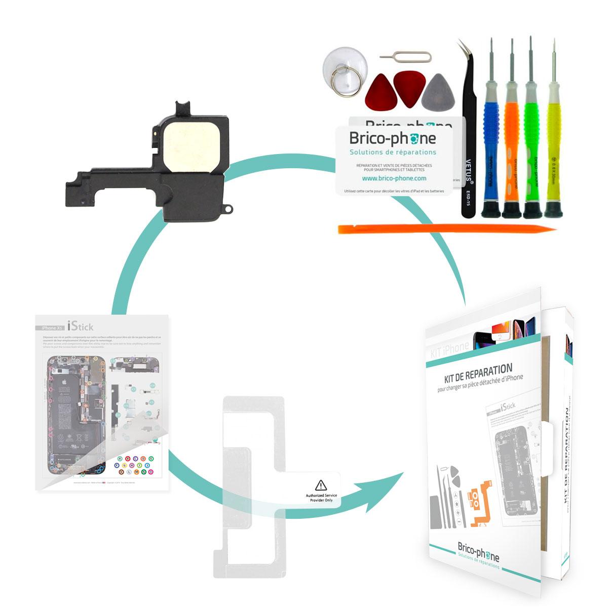 Kit Brico-phone pour changer le haut parleur externe iPhone 5
