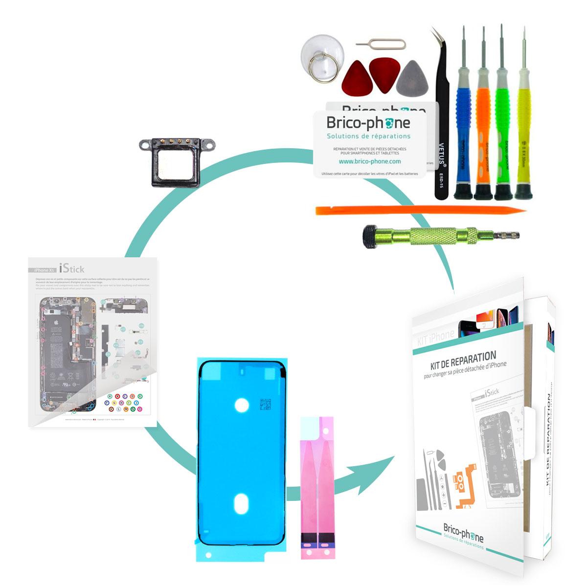 Kit Brico-phone pour changer le haut parleur interne iPhone 6S
