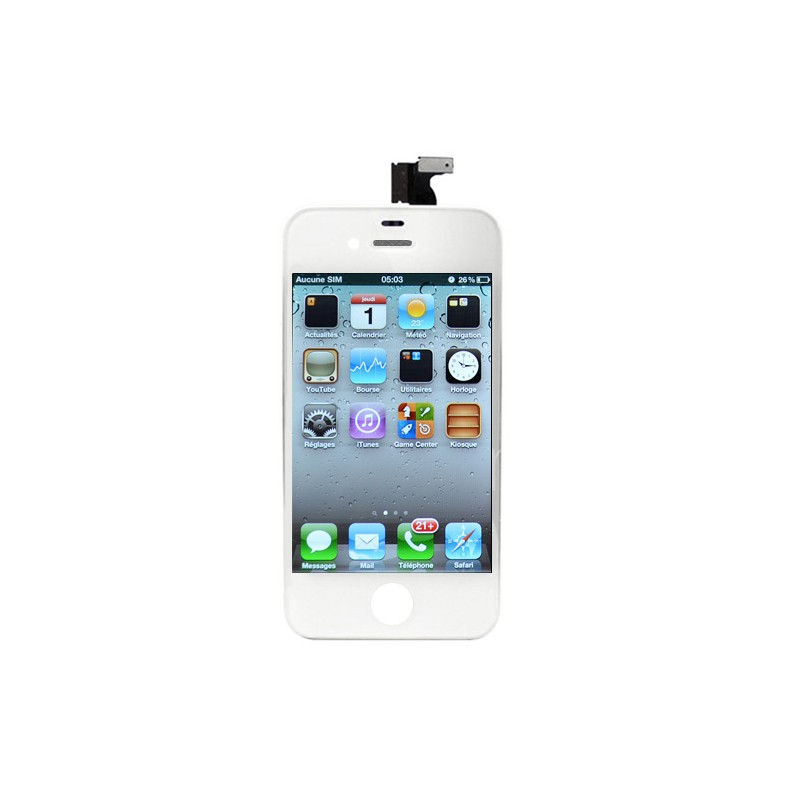 Ecran BLANC iPhone 4 PREMIUM photo 2