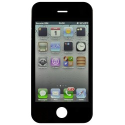 Ecran NOIR iPhone 4S compatible Premier prix photo 2