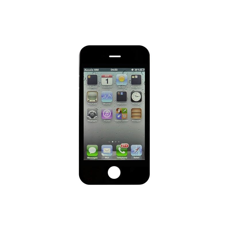 Ecran NOIR iPhone 4S compatible Premier prix photo 2