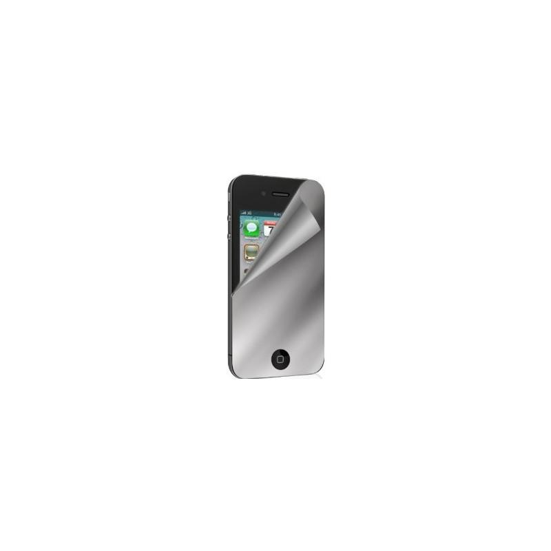 Protecteur écran effet miroir iPhone 4 et 4S photo 2