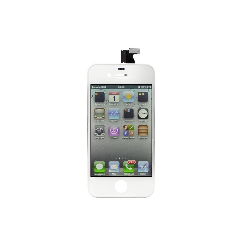 Ecran BLANC iPhone 4 compatible Premier prix photo 2