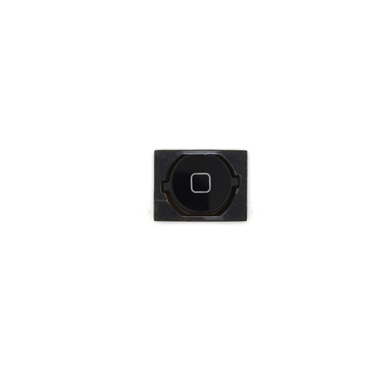 Bouton Home Noir + membrane pour iphone 4S photo 2