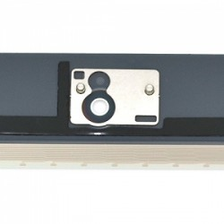 Vitre tactile blanche prémontée avec sticker et bouton home pour IPad 2 qualité supérieure photo 3