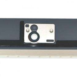 Vitre tactile noire prémontée avec sticker et bouton home pour IPad 2 qualité supérieure photo 3