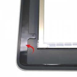 Vitre tactile blanche prémontée pour iPad 3 qualité supérieure photo 5