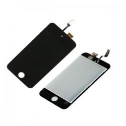 Ecran Ipod touch 4 eme géneration vitre tactile noir + LCD Prémonté photo 2