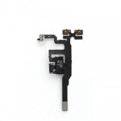 Nappe prise jack + mute et volume + micro d'ambiance pour iPhone 4S Noir photo 4
