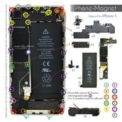 Patron magnétique d'aide au montage pas à pas pour iPhone 4 photo 2