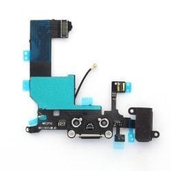 Connecteur de charge pour iPhone 5 Noir photo 2