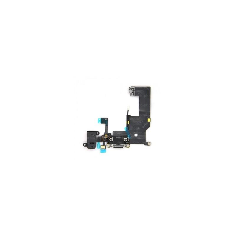 Connecteur de charge pour iPhone 5 Noir photo 3