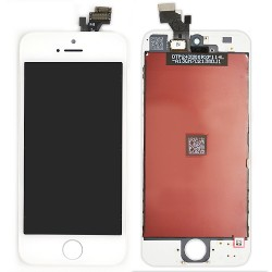 Ecran BLANC iPhone 5 RAPPORT QUALITE / PRIX photo 1