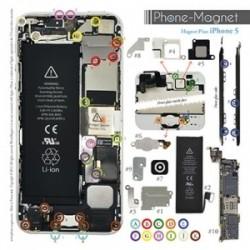 Patron magnétique d'aide au montage pas à pas pour iPhone 5 photo 2