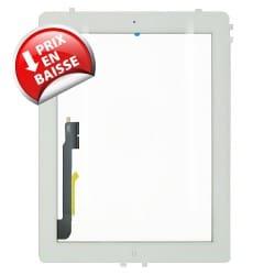 Vitre tactile Qualité premium pour iPad 4 blanche photo 2
