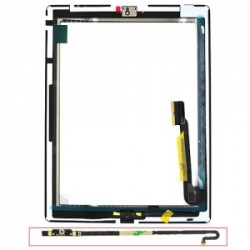 Vitre tactile Qualité premium pour iPad 4 blanche photo 3