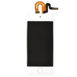 Vitre tactile BLANCHE avec écran LCD qualité  PREMIUM pour iPod Touch 5 photo 2