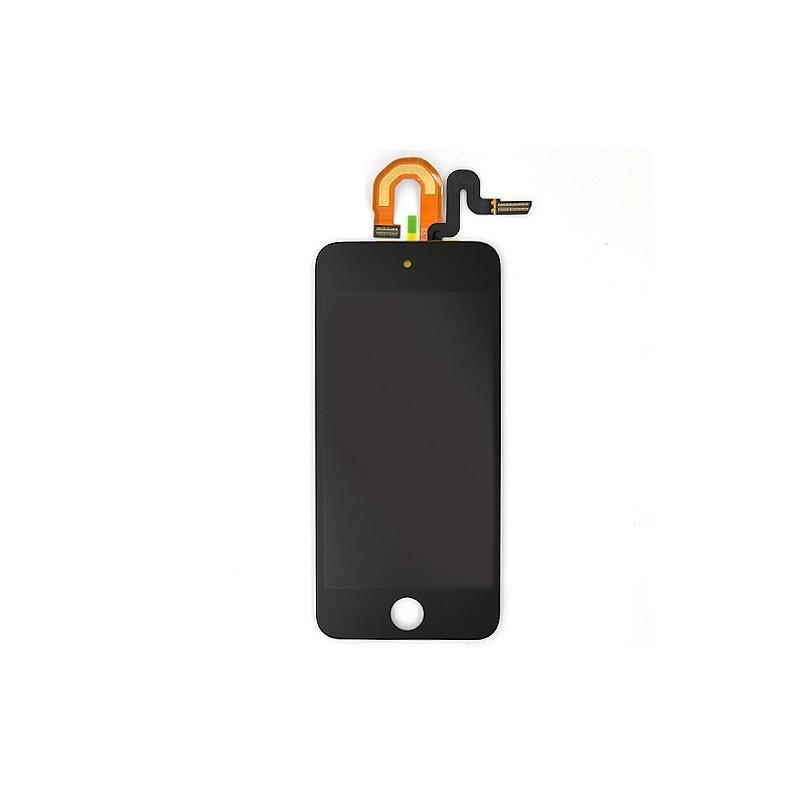 Vitre tactile NOIRE avec écran LCD qualité  PREMIUM pour iPod Touch 5 photo 2