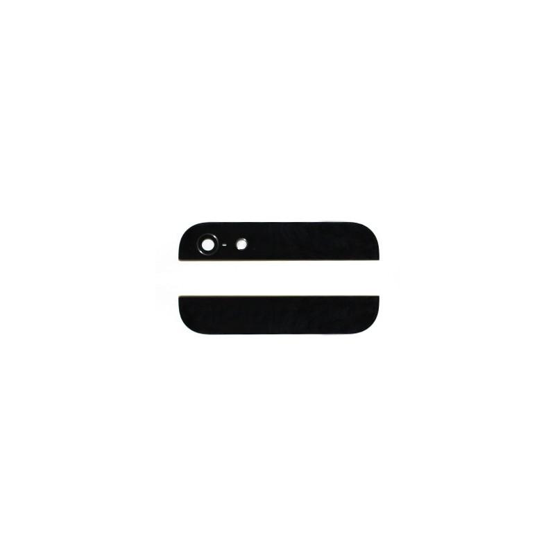 Eléments haut et bas Noirs de la vitre arrière pour iPhone 5 photo 2