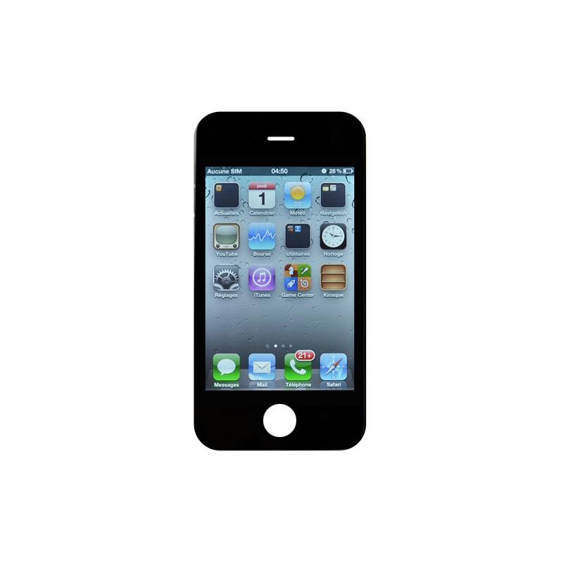 ecran noir iphone 4s meilleur rapport qualit prix pour changer votre cran si il ne. Black Bedroom Furniture Sets. Home Design Ideas