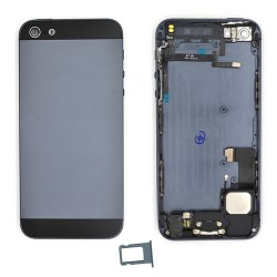 Coque arrière Noire pour iPhone 5 complète photo 2