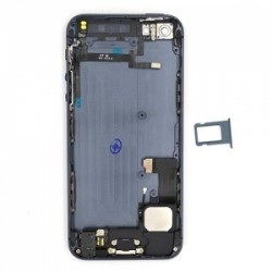 Coque arrière Noire pour iPhone 5 complète photo 4