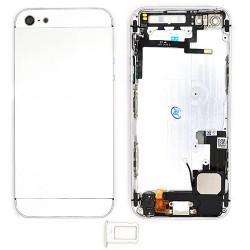 Coque arrière Silver pour iPhone 5 complète photo 2