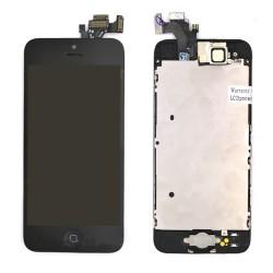 Ecran NOIR iPhone 5 RAPPORT QUALITE / PRIX pré-assemblé photo 1