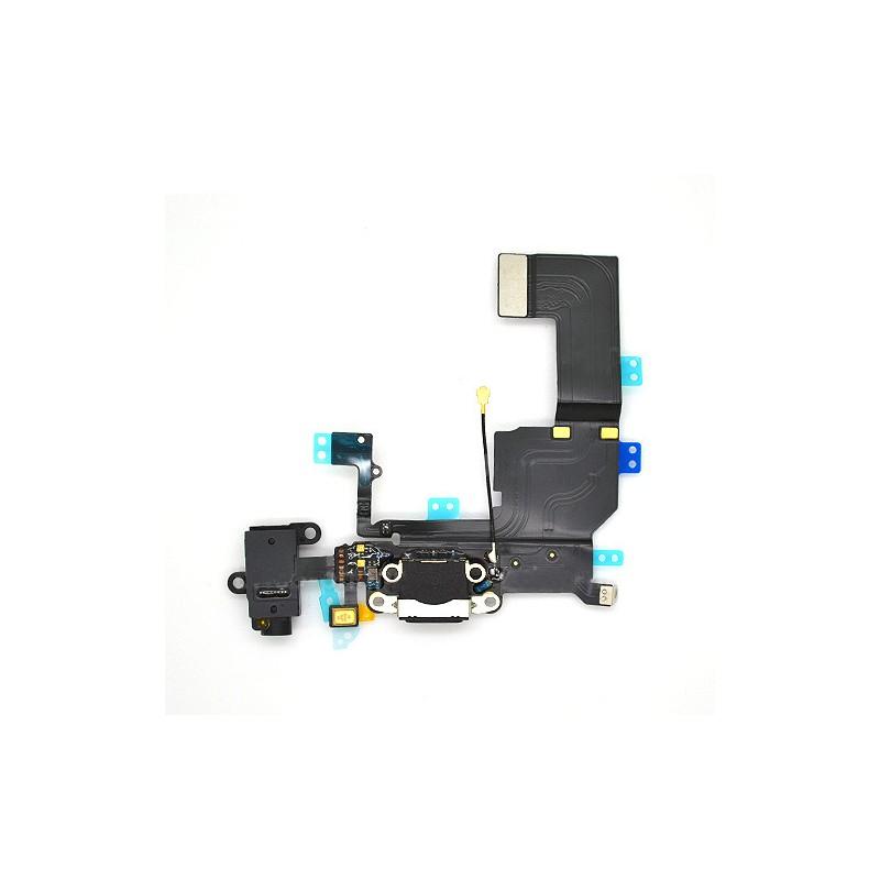 Connecteur de charge, jack et micro iPhone 5C photo 2