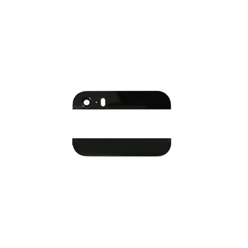 Eléments haut et bas Noir de la vitre arrière pour iPhone 5S et SE photo 2