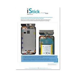 Patron adhésif d'aide au montage pas à pas pour iPod Touch 4 photo 2