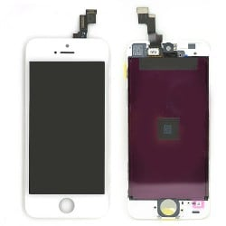 Ecran BLANC iPhone 5S RAPPORT QUALITE / PRIX photo 1
