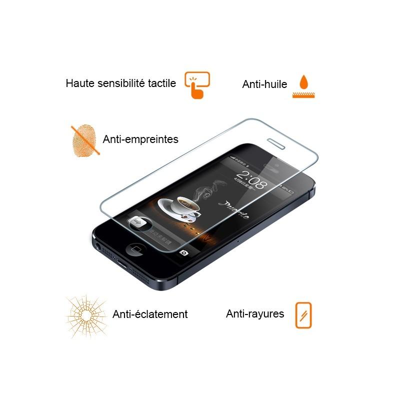 Protecteur écran en verre trempé pour iPhone 4 et 4S photo 2