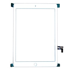 Vitre tactile pour iPad Air blanche photo 2