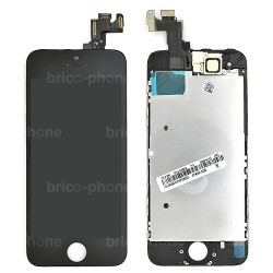 Ecran NOIR iPhone 5S RAPPORT QUALITE / PRIX pré-assemblé photo 2
