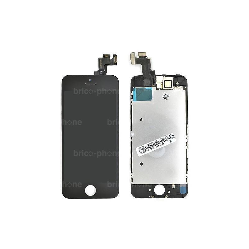 Ecran NOIR iPhone 5S RAPPORT QUALITE / PRIX pré-assemblé photo 2