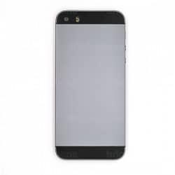 Coque arrière Noire pour iPhone 5S complète photo 3