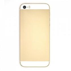 Coque arrière Or pour iPhone 5S complète photo 3