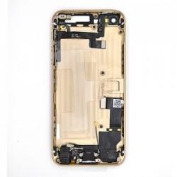 Coque arrière Or pour iPhone 5S complète photo 4