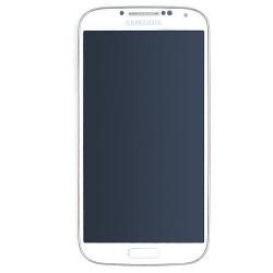 Ecran BLANC COMPLET prémonté sur chassis pour Samsung Galaxy S4 photo 2