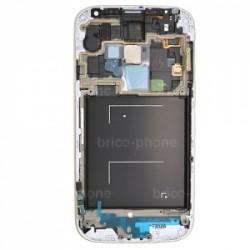 Ecran BLANC COMPLET prémonté sur chassis pour Samsung Galaxy S4 photo 3