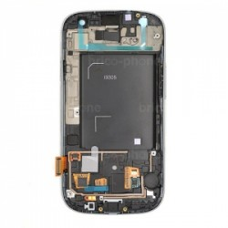 Ecran BLANC prémonté sur châssis pour Samsung Galaxy S3 photo 3