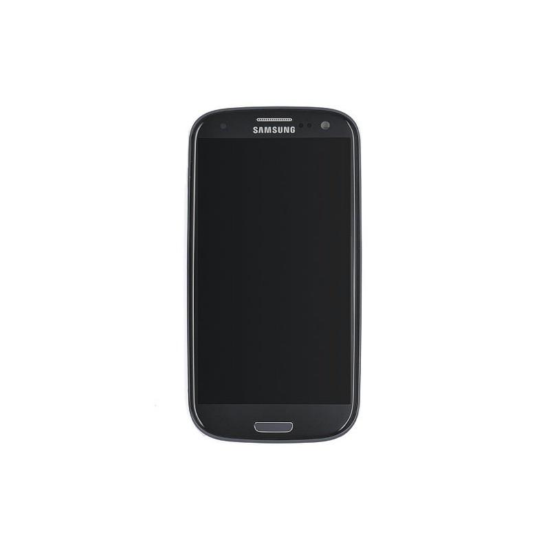 Ecran NOIR prémonté sur châssis pour Samsung Galaxy S3 photo 2