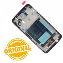 Bloc écran avec châssis (vitre et LCD) pour LG Optimus G2 NOIR photo 3