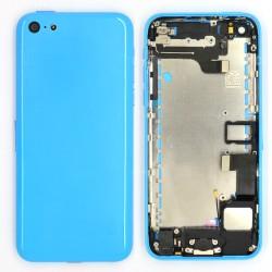 Coque arrière Bleue pour iPhone 5C photo 2