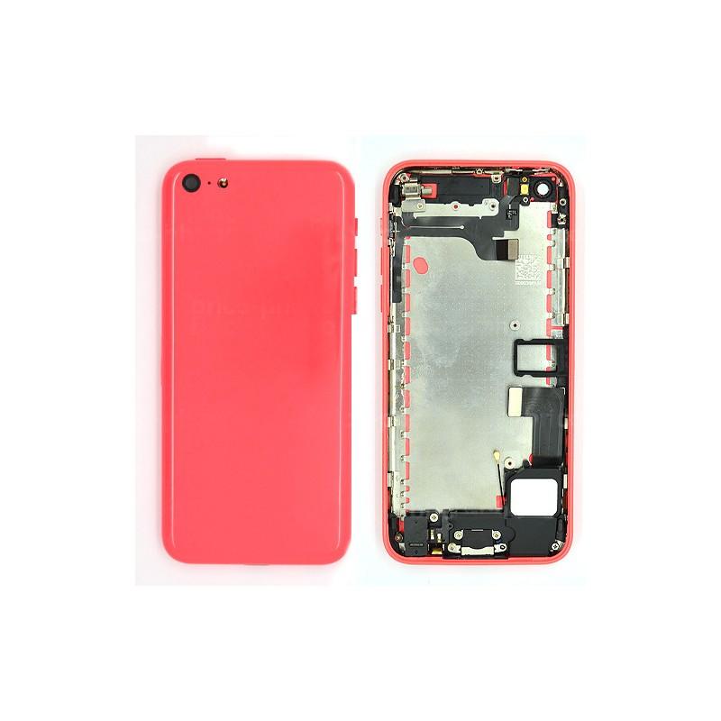Coque arrière Rose pour iPhone 5C photo 2