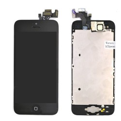 Ecran NOIR iPhone 5C RAPPORT QUALITE / PRIX pré-assemblé photo 2