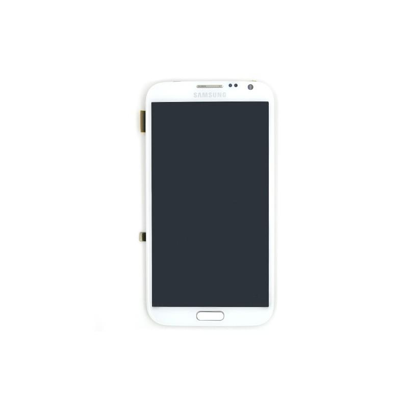 Ecran BLANC complet pour Samsung Galaxy Note 2 LTE version 4G photo 2