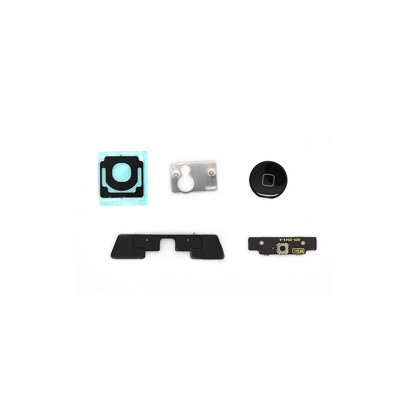 Lot de 5 composants pour bouton home noir iPad 2 photo 2
