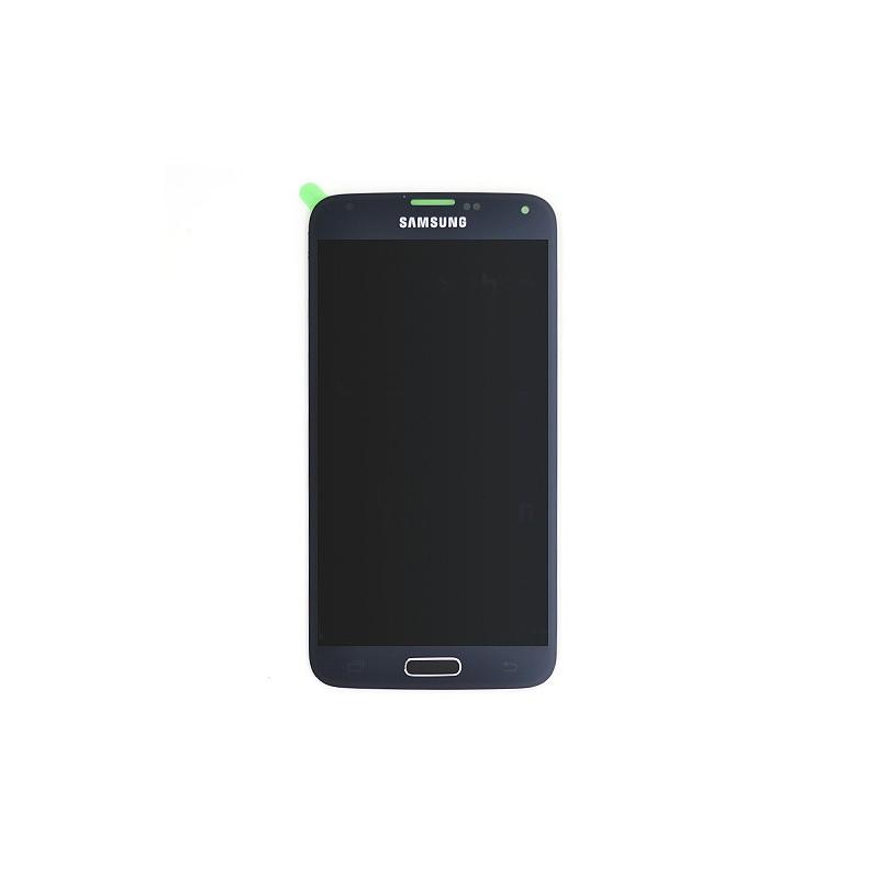 Bloc Ecran NOIR avec vitre et LCD prémontés pour Samsung Galaxy S5 / Galaxy S5 Plus photo 2